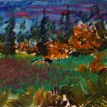 Fall Sky Meadow