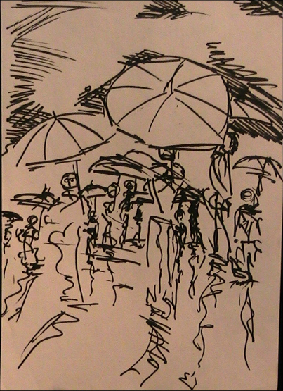 Ink of the Umbrella Folley