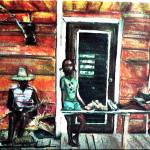 Mary Johnson's Front Porch
