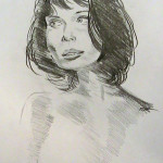 Pencil Nude of Woman