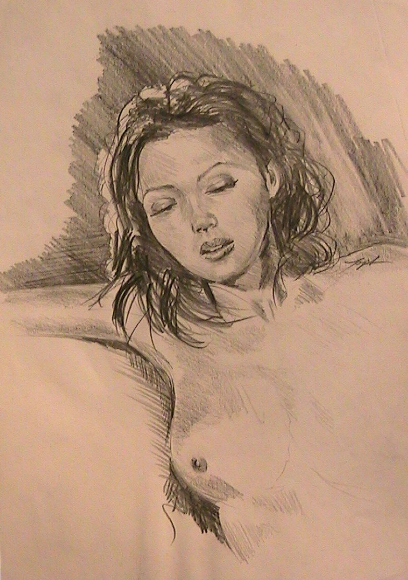 Study of a Nude Resting