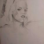 Sketch of Gwendalyn