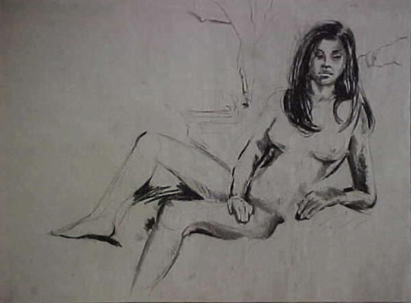 Sketch of Irina