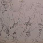 Sketch of the Fruit Bearers