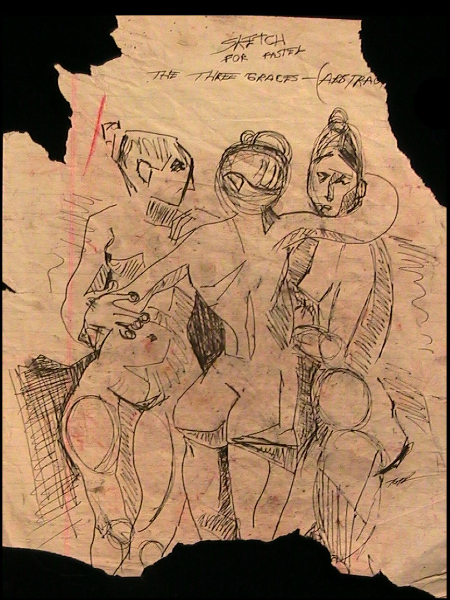 Sketch of The Three Graces