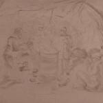 The Burn Barrel (sketch)