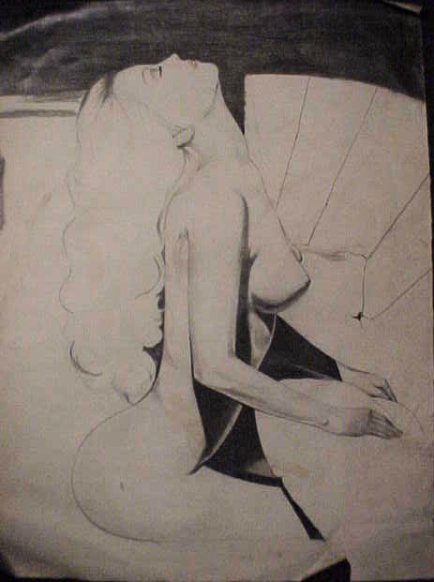 Unfinished Nude Drawing