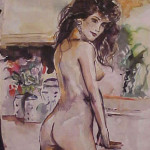 Watercolor Nude 2