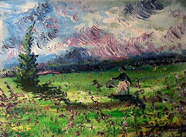 Woman in Meadow